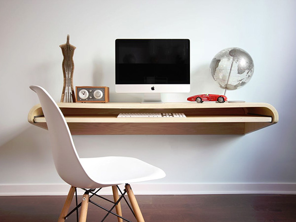 Smart Home Office. Smart Minimal Home Office D