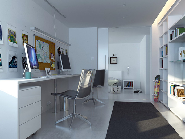 White Room Home Office