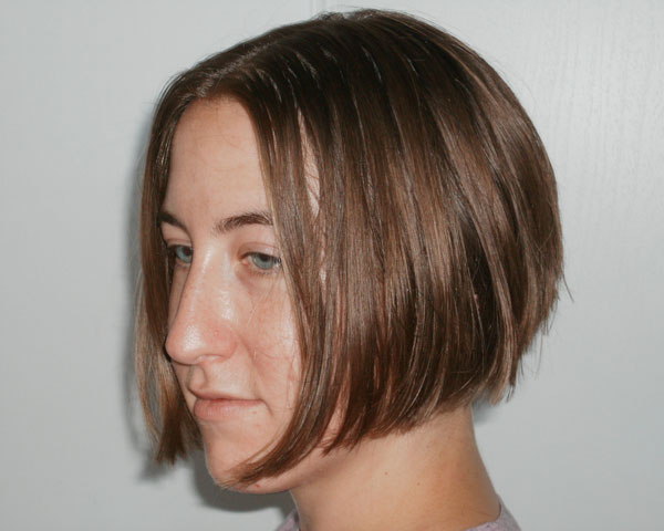 Brown Inverted Bob
