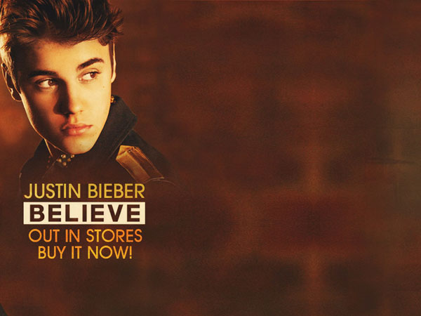 Believe Text Background Bieber