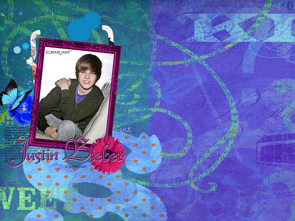 Mauve Background Bieber