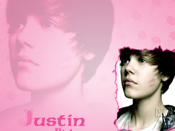 Pink Background Bieber Picture