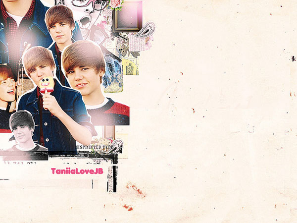 Custom Twitter Background Bieber