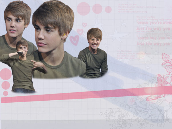 My Bieber Twitter Background
