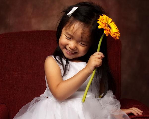 Nonsense! asian flower girl com found