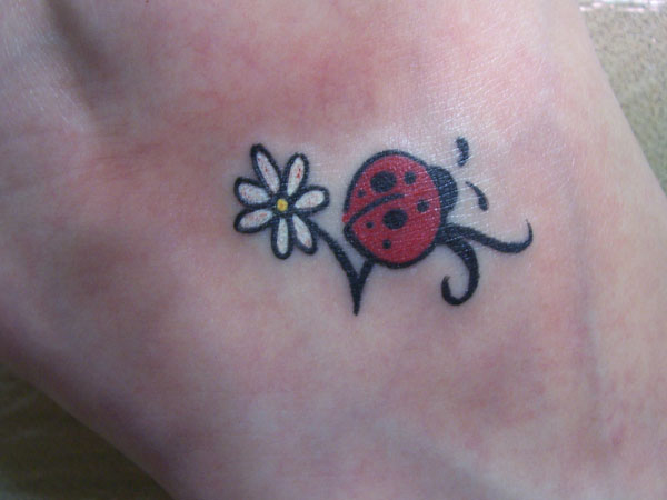 littleflower 32 Exotic Ladybug Tattoos