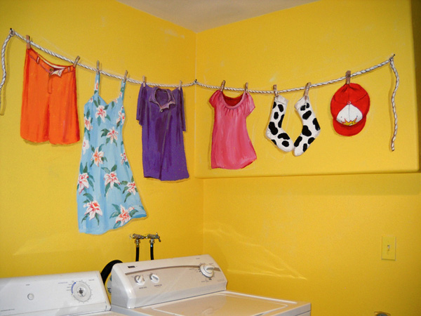 Charming Laundry Room