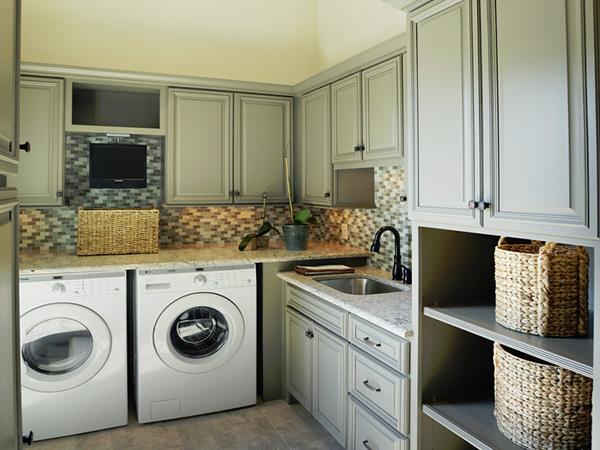 24 Laundry Room Design That Will Sweep You Off Your Feet - SloDive