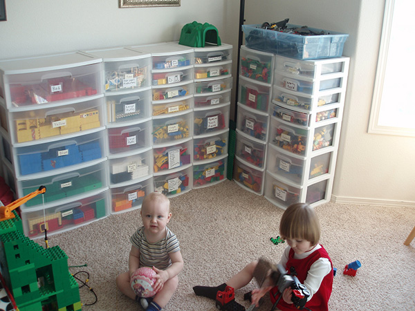 duplo storage system An Imposing Collection of 23 Lego Storage Ideas