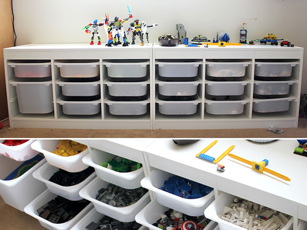 Easy Lego Storage