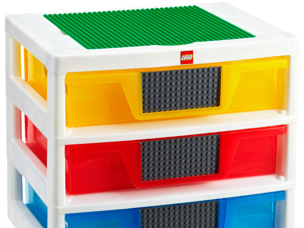 Colorful Lego Storage