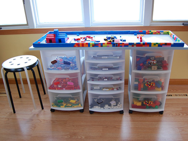 Lego Storage Table