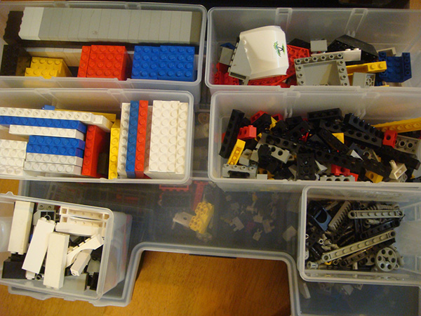 Compartment Lego Storage