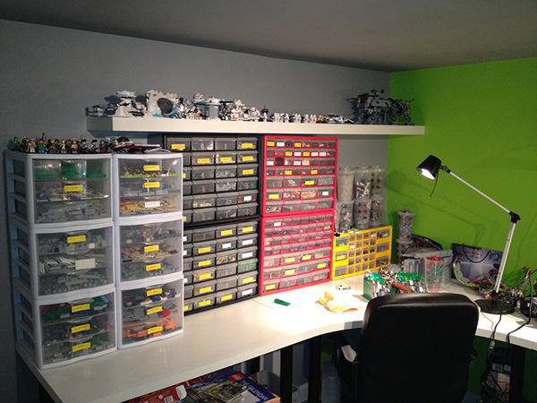 lego store An Imposing Collection of 23 Lego Storage Ideas