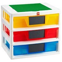 An Imposing Collection of 23 Lego Storage Ideas