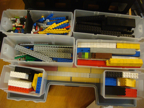 Box Lego Storage