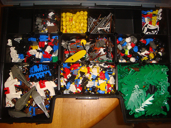Organized Lego Storage