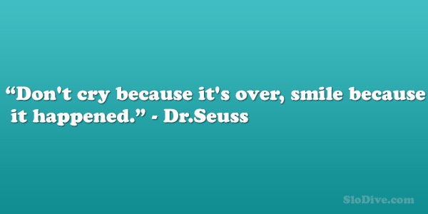 Dr.Seuss Quote