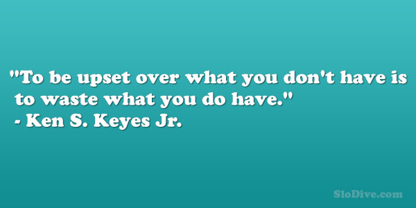 Ken S. Keyes Jr. Quote