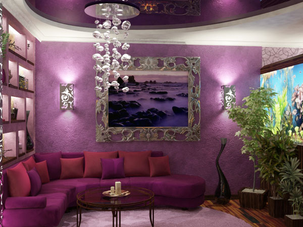 ... Living Room Color Purple Home Ideas Designs Part 79