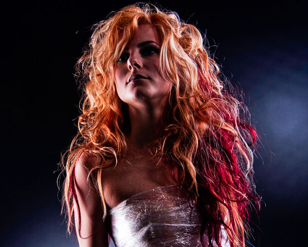 Curly Red Weave
