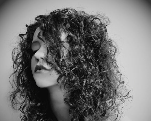 Curly Black Hairstyle