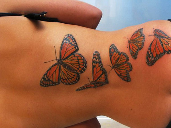 fc989932300f9 Monarch Butterfly Tattoo - 24 Magnificent Collections | Design Press