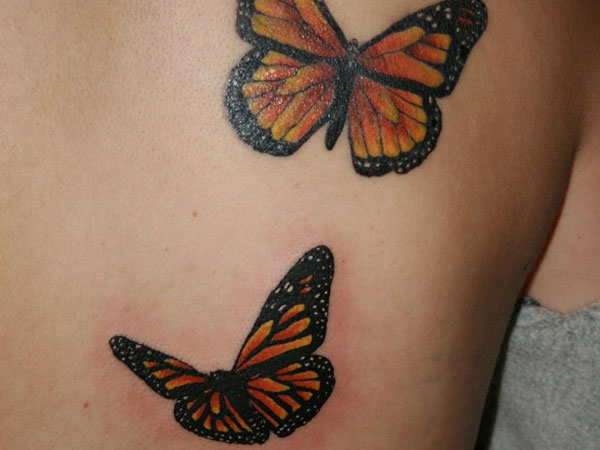 8ed3595bb829a Monarch Butterfly Tattoo - 24 Magnificent Collections | Design Press