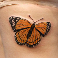 24 Magnificent Monarch Butterfly Tattoo List For The Ones Looking For Something New