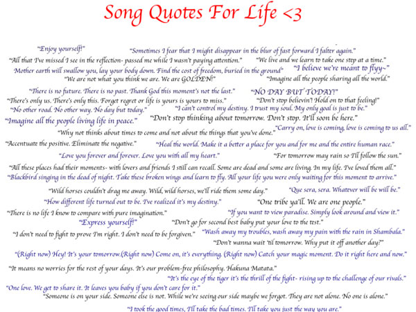 Songs And Life