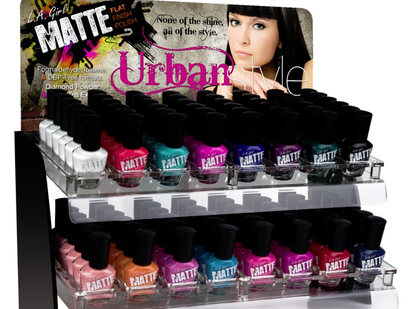 matte nail polish 27 Unbelievable Nail Polish Storage Ideas