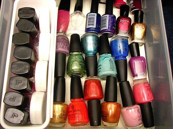 nail polish drawer 27 Unbelievable Nail Polish Storage Ideas