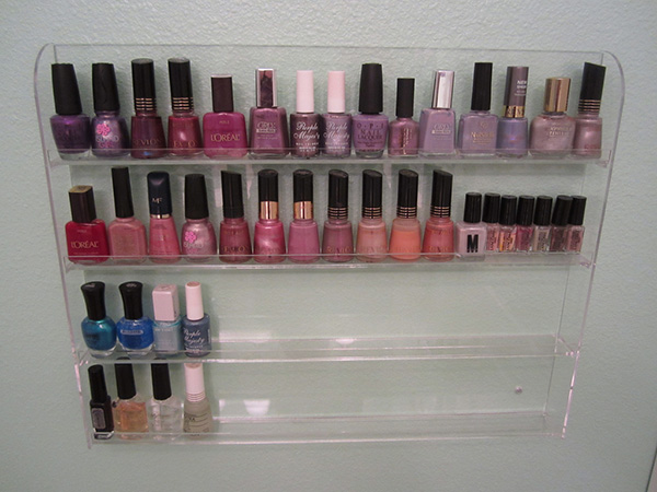 nail polish rack 27 Unbelievable Nail Polish Storage Ideas