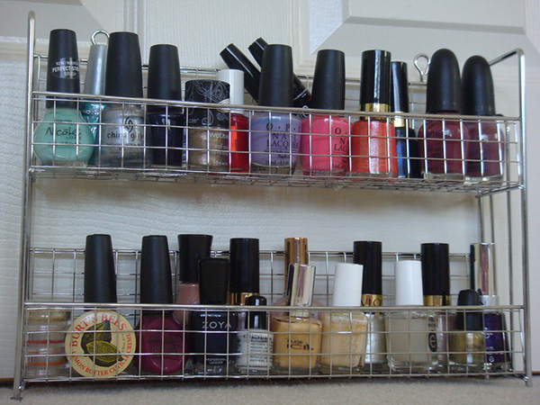 nail polish storage idea 27 Unbelievable Nail Polish Storage Ideas