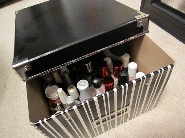 nail polish storage 27 Unbelievable Nail Polish Storage Ideas