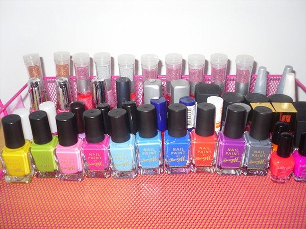 Spacious Nail Polish Storage