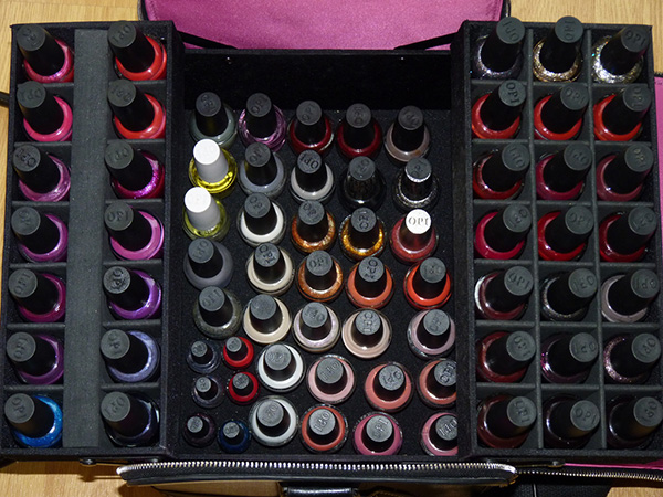 new storage case 27 Unbelievable Nail Polish Storage Ideas