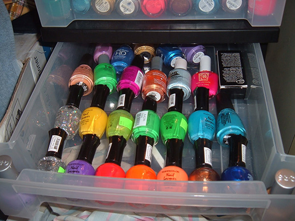nice nail polish storage 27 Unbelievable Nail Polish Storage Ideas