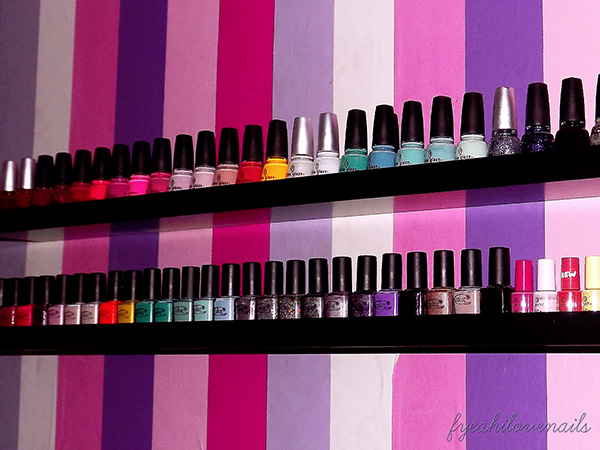 wall mount storage 27 Unbelievable Nail Polish Storage Ideas