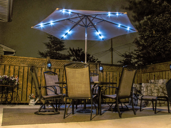 Simple Lighting Patio