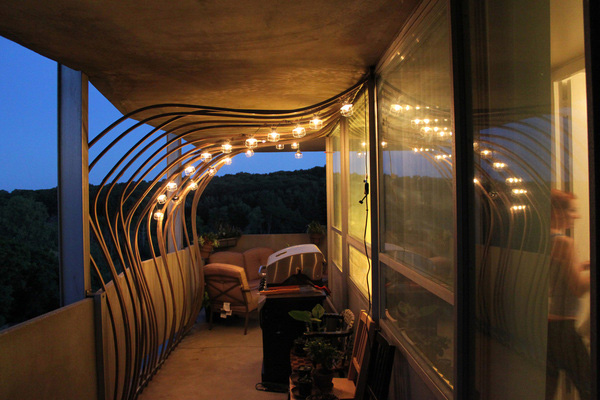 Modern Patio Lights