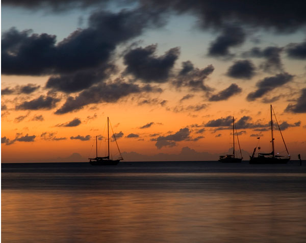 Belize Painted Sunset