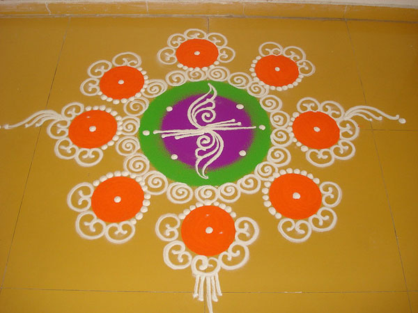 deepawali 32 Encouraging Rangoli Designs