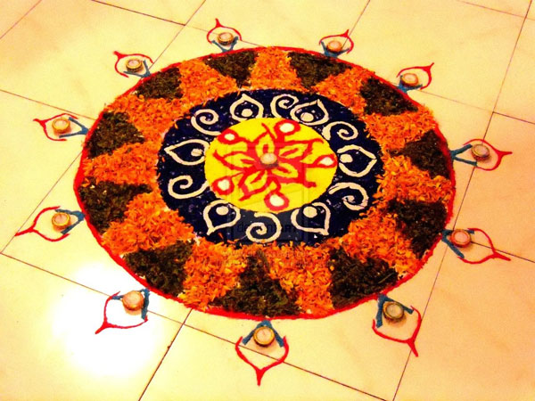 diyas 32 Encouraging Rangoli Designs