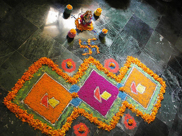lord 32 Encouraging Rangoli Designs