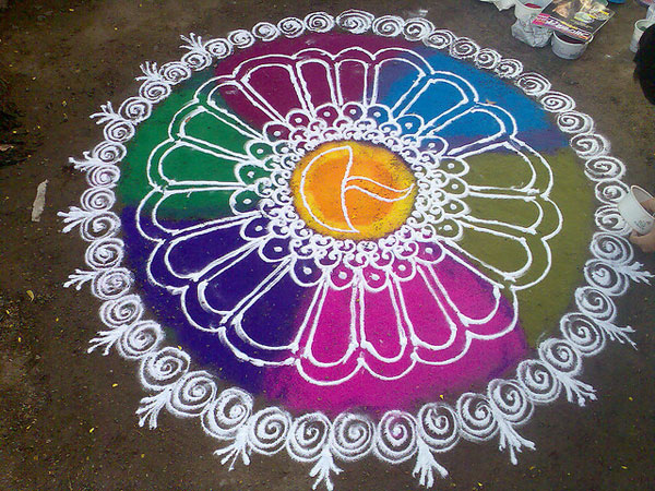 marvelous 32 Encouraging Rangoli Designs