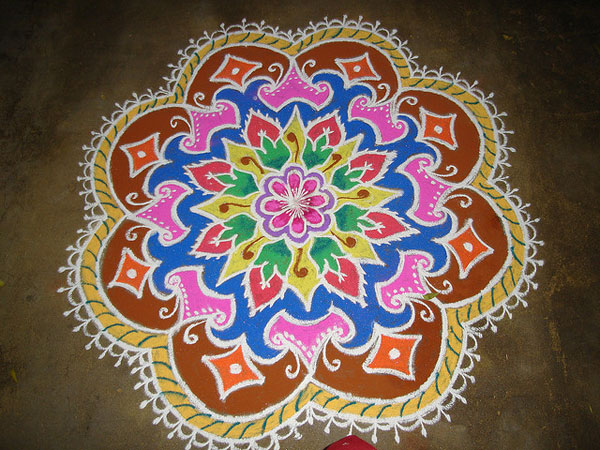 rajganesha 32 Encouraging Rangoli Designs