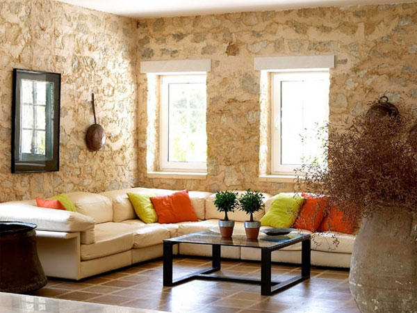 uniqe color 25 Rustic Living Room Ideas That Are Overpoweringly Attractive
