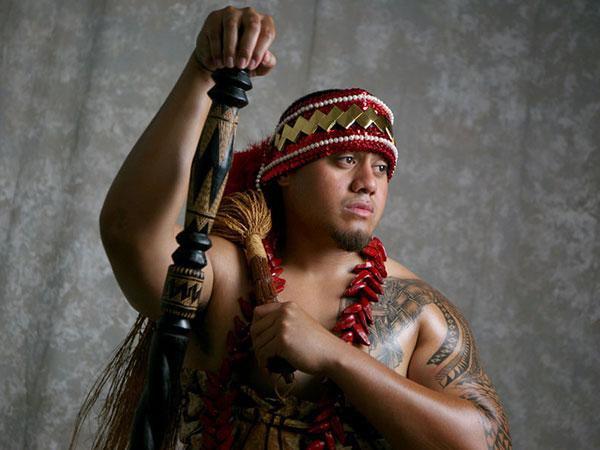 Cool Tattooed Samoan Guy