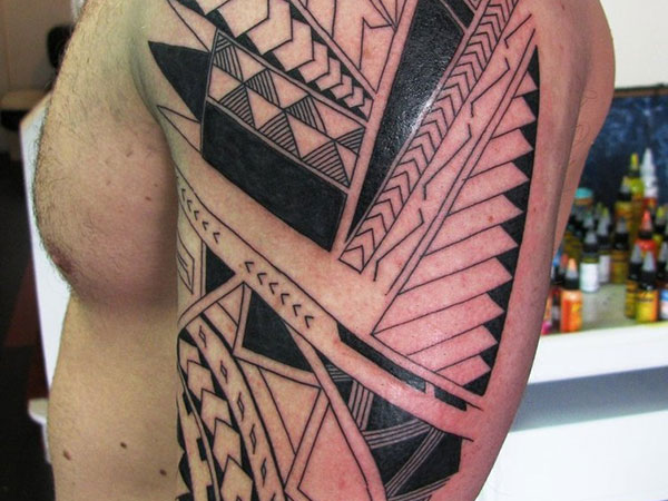 Samoan  Arm Tattoo